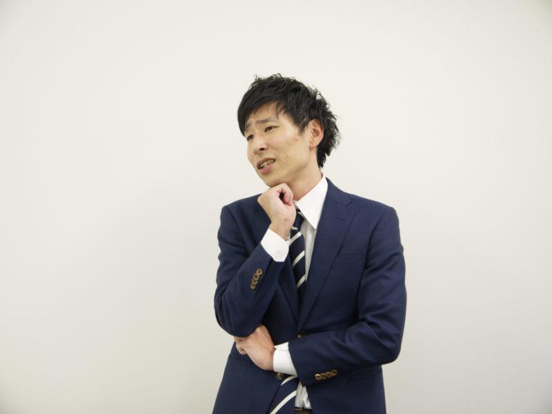 長野県の法律事務所を検討している男性